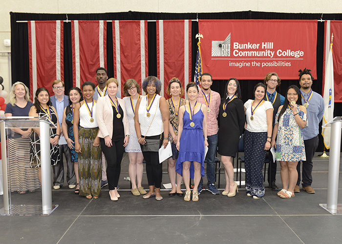Commonwealth honors students with their medals